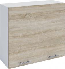 Horní kuchyňská skříňka FABIANA W - 80, dub sonoma/bílá