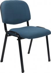 Konferenční židle ISO 2 NEW stohovatelná, tmavomodrá
