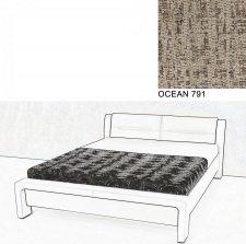 Čalouněná postel AVA CHELLO 180x200, OCEAN 791