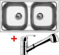 Sinks OKIO 780 DUO V+LEGENDA S - OK78DVLESCL