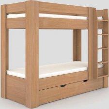 Patrová postel REA PIKACHU 80x200 pravá, BUK