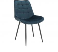 Židle, modrá / černá, SARIN