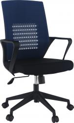 Kancelářská židle DIXOR tmavomodrá/černá