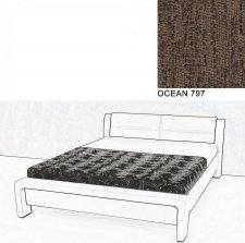 Čalouněná postel AVA CHELLO 180x200, OCEAN 797