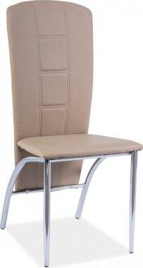 Jídelní čalouněná židle H-120 tmavě béžová