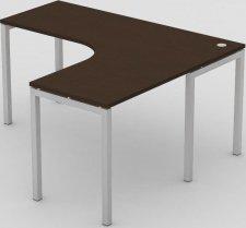 Rohový kancelářský stůl REA PLAY RP-SRK-1600 WENGE