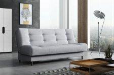 Rozkládací pohovka Living, s úložným prostorem, modrá