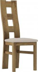 Čalouněná židle TADEÁŠ dub stirling/Victoria 20