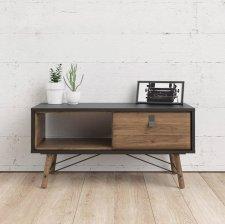 Konferenční stolek Rain 009 černá MAT/ořech