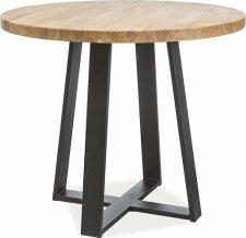 Jídelní stůl VASCO 90 dub masiv
