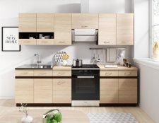 Kuchyňská linka Largo 180/240 dub sonoma světlá