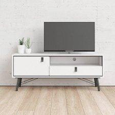 TV stolek Rain 007 bílý MAT