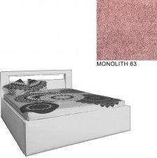Čalouněná postel AVA LERYN 180x200, s úložným prostorem a LED osvětlením, MONOLITH 63