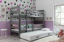 Patrová postel s přistýlkou Norbert grafit