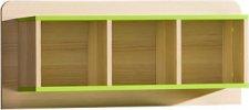 Regál LIMO L9 závěsný zelený