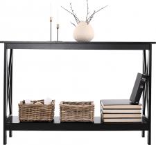 Odkládací konzolový stolek APOLOS, černá