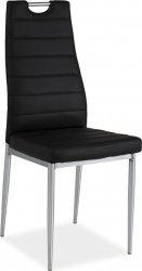Jídelní židle H-260 černá/chrom