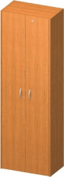 Šatní skříň TEMPO ASISTENT NEW 006 se zámkem, třešeň