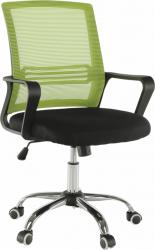 Kancelářská židle APOLO, síťovina zelená/černá