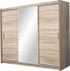 Šatní skříň MONZA 250 sonoma