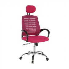 Kancelářská židle ELMAS, růžová