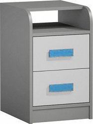 Kontejner GYT 9 antracit/bílá/modrá
