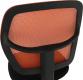 Dětská židle MESH, oranžová/černá