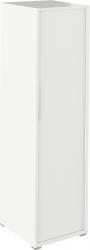 Věšáková skříň, bílá, RIOMA TYP 20