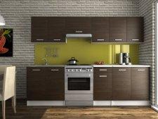 Kuchyňská linka Luigi 200/260 wenge