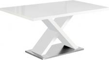 Jídelní stůl FARNEL, bílá lesk