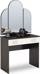 Toaletní stolek se zrcadlem BASIA CT-551 belfort/wenge