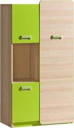 LIMO L5 kombinovaná skříňka zelená