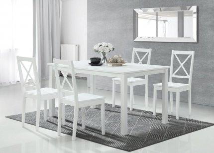 Jídelní stůl STILO 110x70, bílý