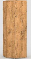 Rohová šatní skříň REA AMY 34/180 LANCELOT