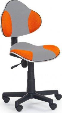 Dětská židle QZY-G2 šedo oranžová