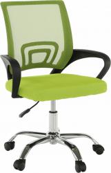 Kancelářská židle  DEX 2 NEW, zelená/černá