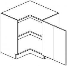 DRPP dolní skříňka rohová MERLIN 80x80 cm