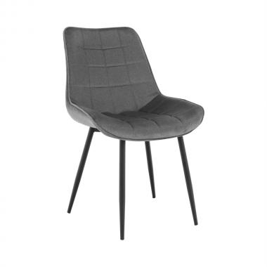 Jídelní židle SARIN, šedá/černá