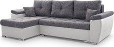 Rohová sedací souprava PETER rozkládací s úložným prostorem, Soft17/Lawa5