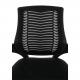 Kancelářská židle IMELA TYP 2, černá/chrom