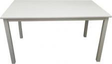 Jídelní stůl ASTRO 135, bílá