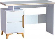 Psací stůl PAGINO 12 bílá/jasan