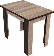 Rozkládací jídelní stůl GENEVA 90x60, sonoma trufel/wenge