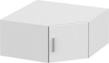 Rohový nástavec INVITA  TYP 8 na skříň, bílá