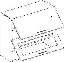 W80SP horní skříňka výklopná POSNANIA