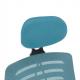 Kancelářská židle ELMAS, modrá/černá
