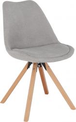 Jídelní židle SABRA, šedá/buk