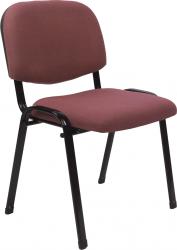 Konferenční židle ISO 2 NEW stohovatelná, červenohnědá