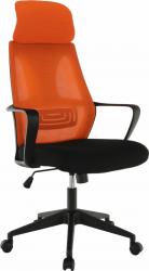 Kancelářská židle TAXIS, černá/oranžová