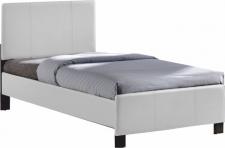 Čalouněná postel ARKONA 90x200, bílá